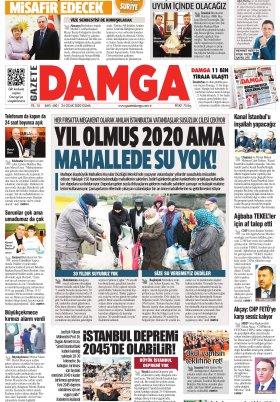 Gazete Damga - 24.01.2020 Sayfaları