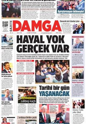 Gazete Damga - 24.03.2019 Sayfaları