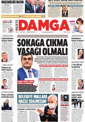 Gazete Damga - 24.03.2020 Sayfaları