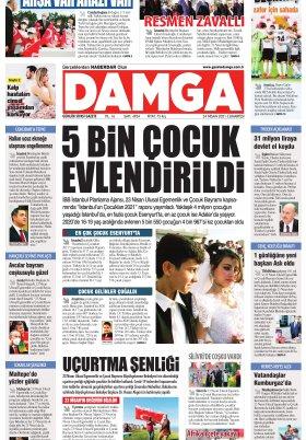 DAMGA Gazetesi - 24.04.2021 Sayfaları