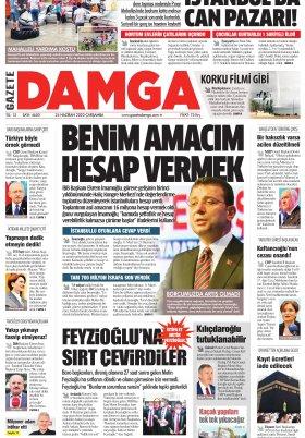 Gazete Damga - 24.06.2020 Sayfaları