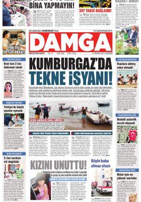 DAMGA Gazetesi - 24.07.2021 Sayfaları