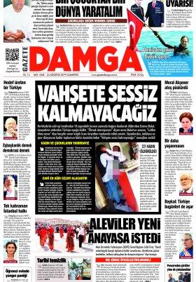 Gazete Damga - 24.08.2019 Sayfaları