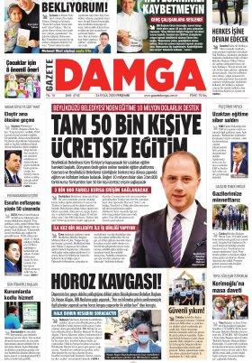 Gazete Damga - 24.09.2020 Sayfaları