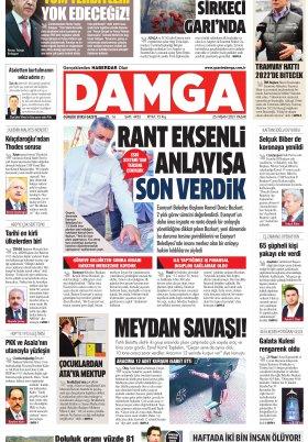 DAMGA Gazetesi - 25.04.2021 Sayfaları