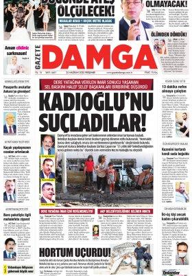 Gazete Damga - 25.06.2020 Sayfaları