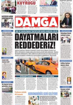 DAMGA Gazetesi - 25.07.2021 Sayfaları