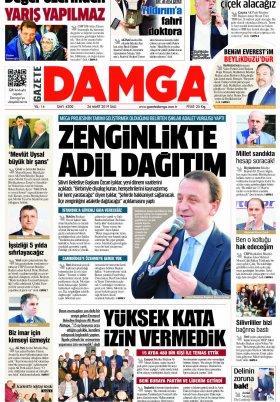 Gazete Damga - 26.03.2019 Sayfaları