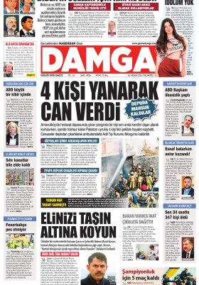 DAMGA Gazetesi - 26.04.2021 Sayfaları