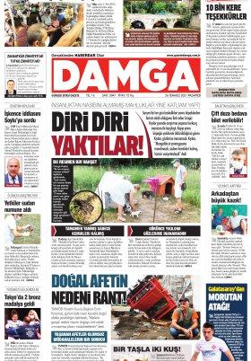 DAMGA Gazetesi - 26.07.2021 Sayfaları