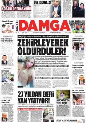 Gazete Damga - 26.09.2020 Sayfaları