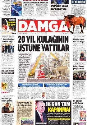 DAMGA Gazetesi - 27.04.2021 Sayfaları