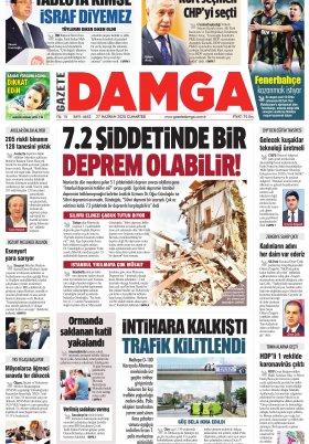 Gazete Damga - 27.06.2020 Sayfaları