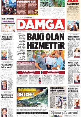 DAMGA Gazetesi - 27.07.2021 Sayfaları
