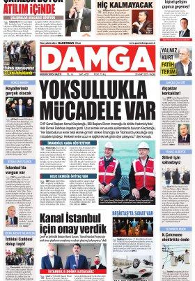 DAMGA Gazetesi - 28.03.2021 Sayfaları