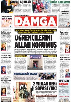 DAMGA Gazetesi - 28.04.2021 Sayfaları
