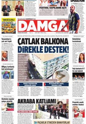 DAMGA Gazetesi - 28.07.2021 Sayfaları