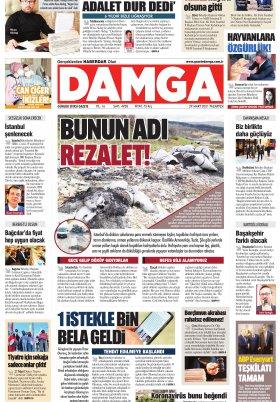 DAMGA Gazetesi - 29.03.2021 Sayfaları