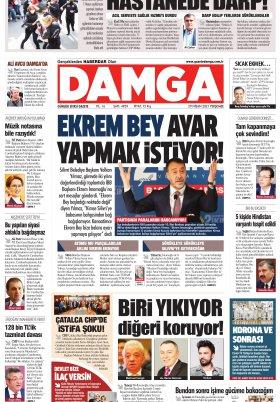DAMGA Gazetesi - 29.04.2021 Sayfaları