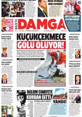 Gazete Damga - 29.06.2020 Sayfaları