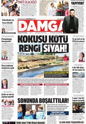 DAMGA Gazetesi - 29.07.2021 Sayfaları