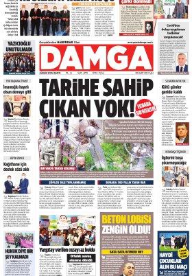 DAMGA Gazetesi - 30.03.2021 Sayfaları