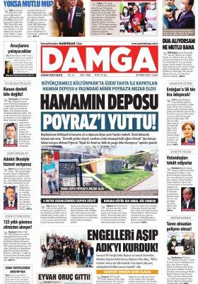 DAMGA Gazetesi - 30.04.2021 Sayfaları