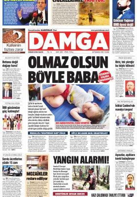 DAMGA Gazetesi - 30.07.2021 Sayfaları