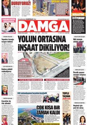 DAMGA Gazetesi - 31.03.2021 Sayfaları