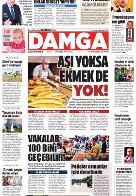 DAMGA Gazetesi - 31.07.2021 Sayfaları