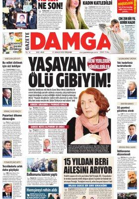 Gazete Damga - 31.12.2020 Sayfaları