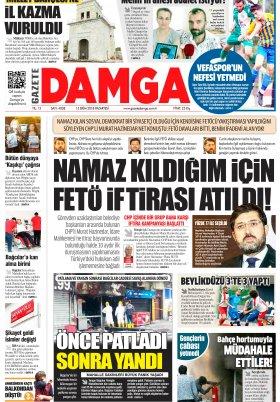 Gazete Damga - 15.10.2018 Sayfaları