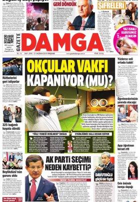 Gazete Damga - 27.06.2019 Sayfaları