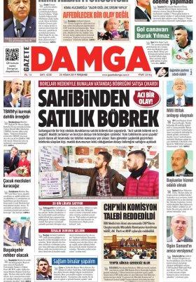 Gazete Damga - 25.04.2019 Sayfaları