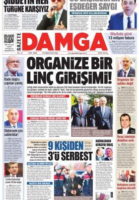 Gazete Damga - 23.04.2019 Sayfaları
