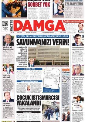 Gazete Damga - 26.04.2019 Sayfaları
