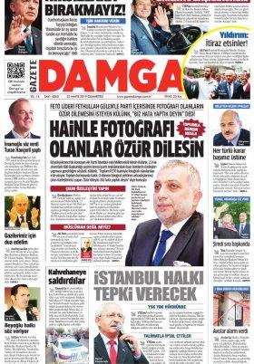 Gazete Damga - 25.05.2019 Sayfaları