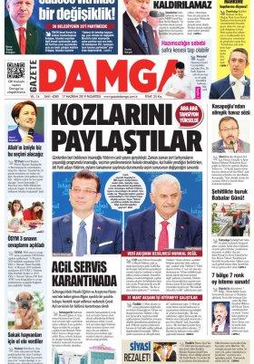 Gazete Damga - 17.06.2019 Sayfaları