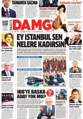 Gazete Damga - 18.06.2019 Sayfaları