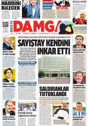 Gazete Damga - 19.06.2019 Sayfaları
