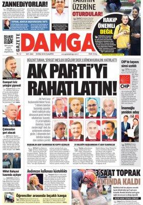 Gazete Damga - 20.10.2018 Sayfaları
