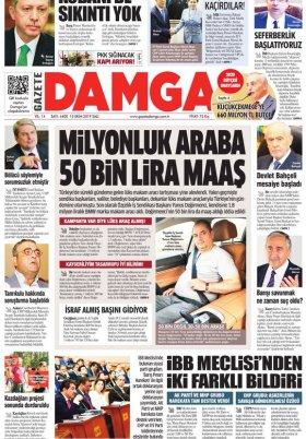 Gazete Damga - 15.10.2019 Sayfaları