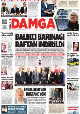 Gazete Damga - 05.01.2020 Sayfaları