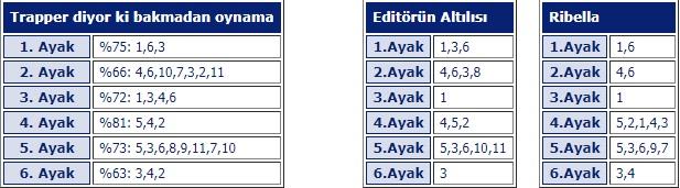 4 Mart 2019 Pazartesi Bursa at yarışı tahminleri
