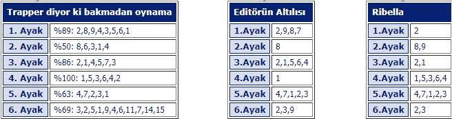 6 Temmuz 2019 Cumartesi İstanbul at yarışı tahminleri