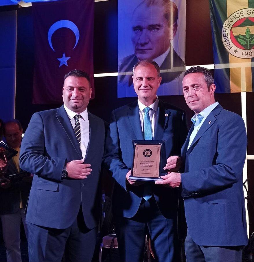 Büyükçekmece Fenerbahçeli İş İnsanları Derneği Enver Katrancı