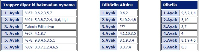 7 Ekim 2019 Pazartesi Bursa at yarışı tahminleri