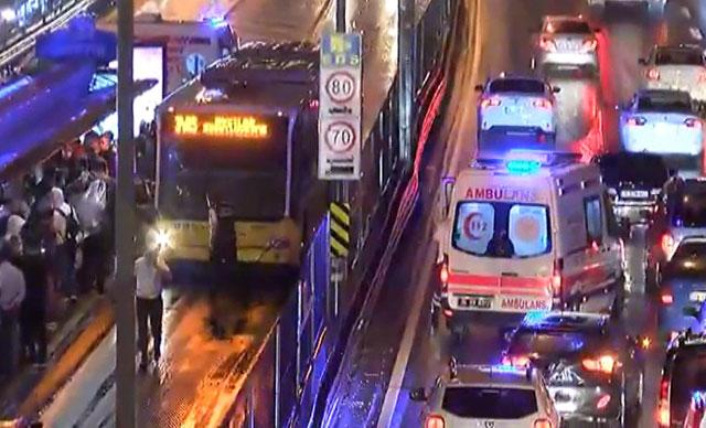 metrobüs kaza