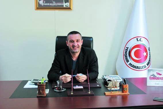 Ataşehir'de Yenişehir Mahallesi Muhtarı Mustafa Arı