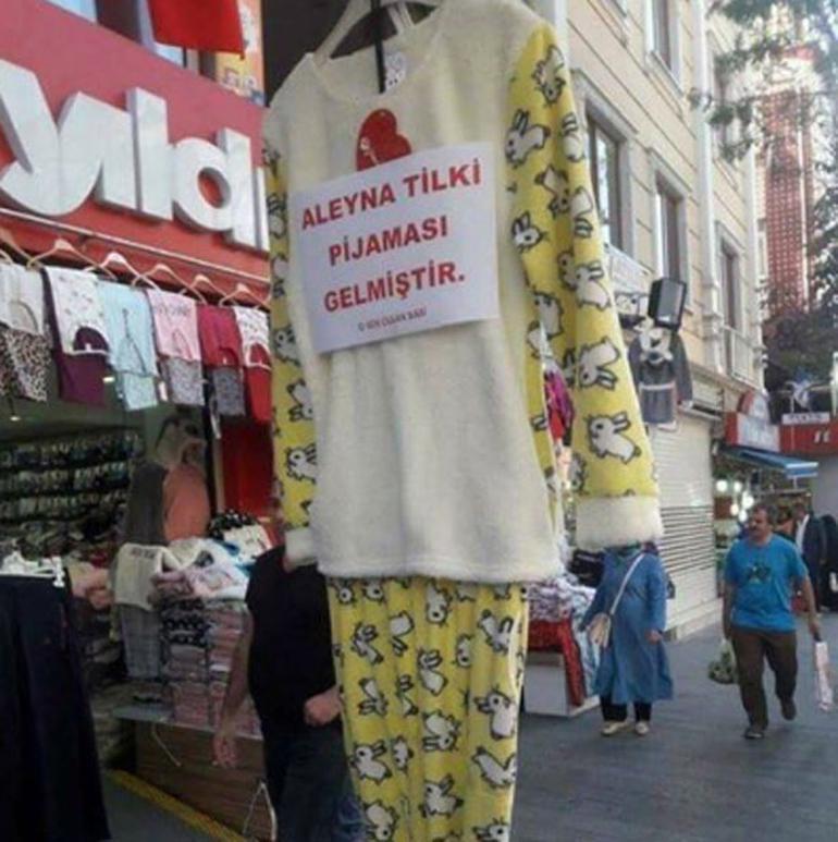 aleyna tilki pijaması
